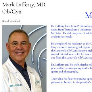 Mark Lafferty I, MD