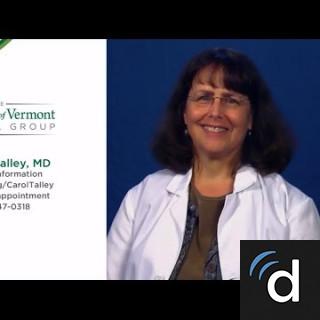 Carol Talley, MD, Physical Medicine/Rehab, South Burlington, VT, University of Vermont Medical Center