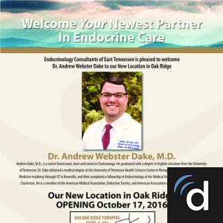 Andrew Dake, MD, Endocrinology, Oak Ridge, TN