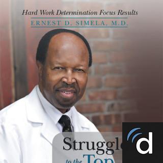 Ernest Simela, MD, Pediatrics, Roosevelt, NY, Long Island Jewish Medical Center