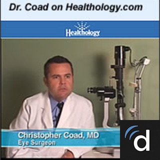 Christopher Coad, MD, Ophthalmology, New York, NY, New York Eye and Ear Infirmary of Mount Sinai