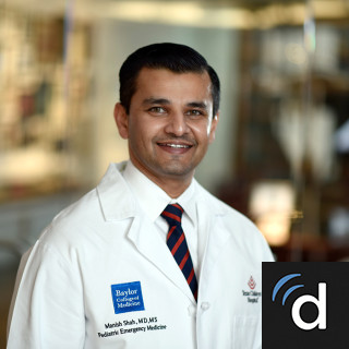 Manish Shah, MD, Pediatric Emergency Medicine, Houston, TX, Texas Children's Hospital