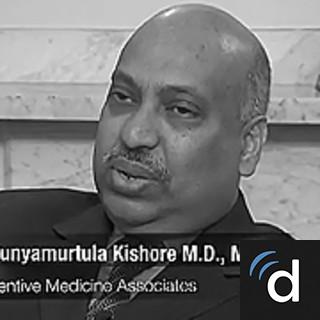 Dr. Punyamurtula S. Kishore, Preventive Medicine Physician in ...