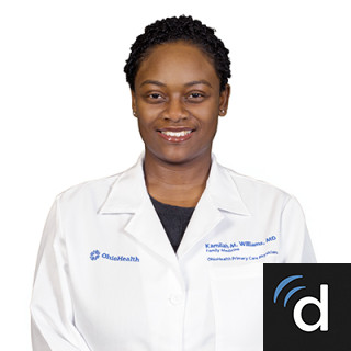 Kamilah (Abrams) Williams, MD, Family Medicine, Blacklick, OH, OhioHealth Grady Memorial Hospital