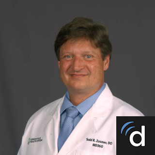 Todd Zusmer, DO, Family Medicine, Boiling Springs, SC, Spartanburg Medical Center - Church Street Campus