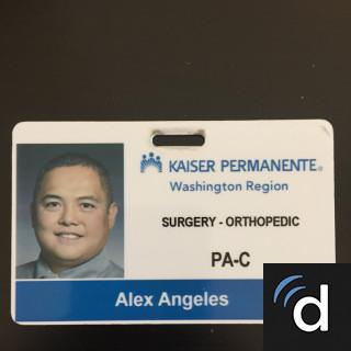 Alex Angeles, PA – Seattle, WA | Orthopedics